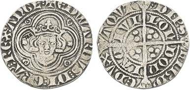 EDWARD I (LONGSHANKS) GROAT (REPLICA) COIN
