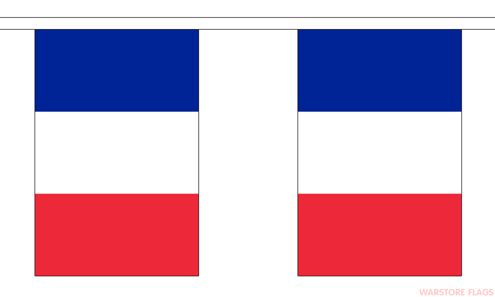 FRANCE BUNTING  9 METRES 30 FLAGS