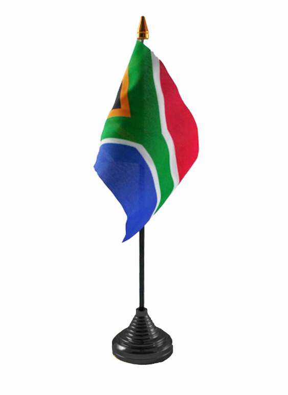 South Africa New Table Flag