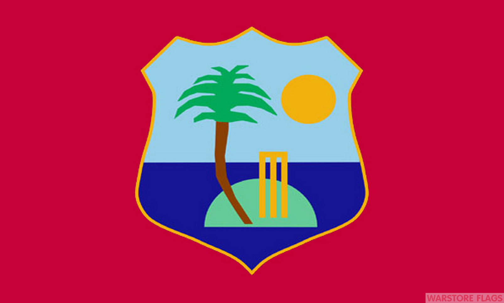 WEST INDIES FLAGS Back
