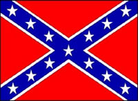 CONFEDERATE - HAND WAVING FLAG (MEDIUM)