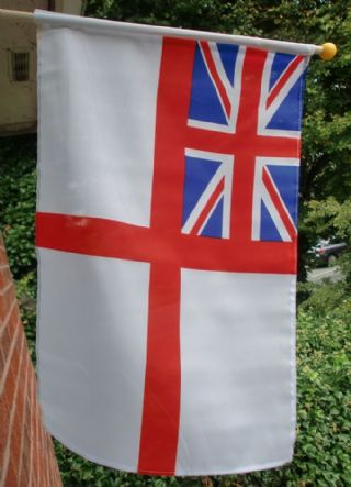 White Ensign Small Hand Waving Flag
