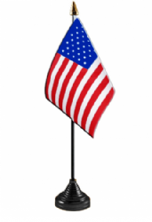 Wooden 3 Hole Base for 9x6 Hand Flags